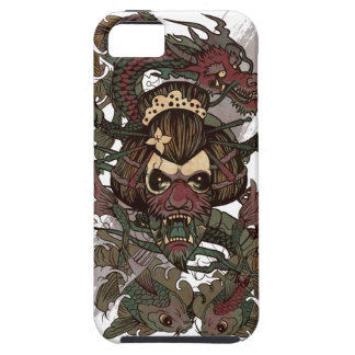 Wellcoda Dragon Ornament Freaky Monster iPhone SE/5/5s Case