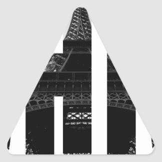 Wellcoda Eiffel Tower Chic Swag Paris Love Triangle Sticker