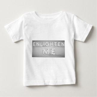 Wellcoda Enlighten Me Bulbs Swag Hipster Baby T-Shirt