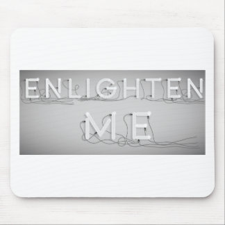 Wellcoda Enlighten Me Electric Bulb Lamp Mouse Pad