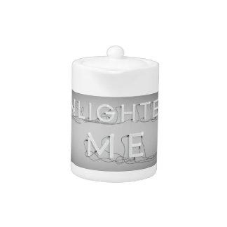 Wellcoda Enlighten Me Electric Bulb Lamp Teapot