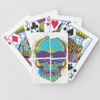 Wellcoda Epic Party DJ Skull Dead Summer Bicycle Playing Cards