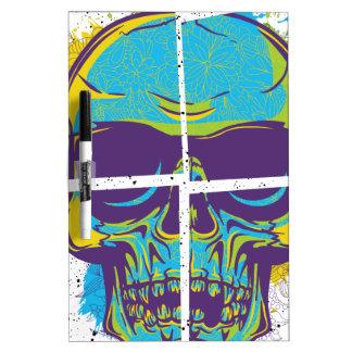 Wellcoda Epic Party DJ Skull Dead Summer Dry-Erase Board