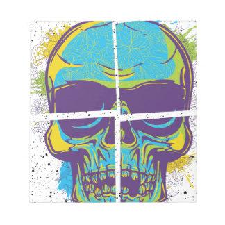 Wellcoda Epic Party DJ Skull Dead Summer Notepad