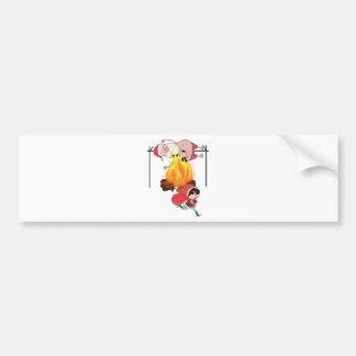 Wellcoda Evil Kid Cook Santa Claus Roast Bumper Sticker