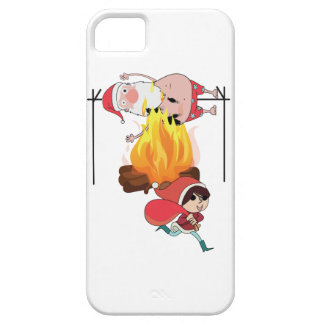 Wellcoda Evil Kid Cook Santa Claus Roast iPhone SE/5/5s Case