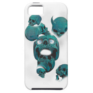 Wellcoda Evil Skull Horror Creepy Face iPhone SE/5/5s Case