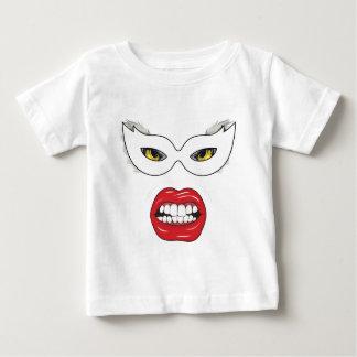 Wellcoda Eye Mask Domino Freak Fake Face Baby T-Shirt