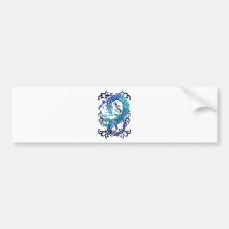 Wellcoda Fantasy Dragon Throne Myth Game Bumper Sticker