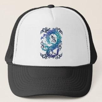 Wellcoda Fantasy Dragon Throne Myth Game Trucker Hat