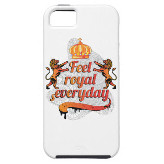 Wellcoda Feel Royal Everyday Crown Lion iPhone SE/5/5s Case