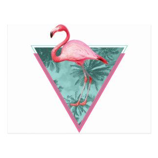 Wellcoda Flamingo Paradise Palm Lake Fun Postcard