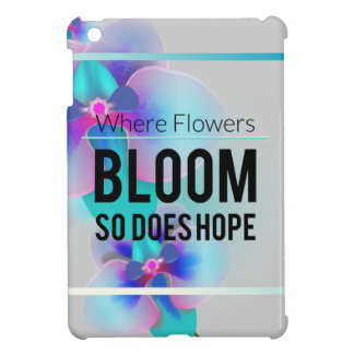 Wellcoda Flower Bloom And Hope Happy Time Cover For The iPad Mini