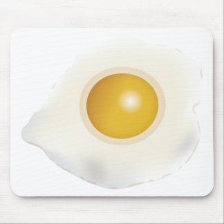 Wellcoda Fried Egg Morning Food Scrambled Mouse Pad