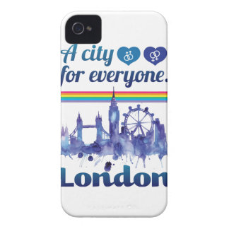 Wellcoda Friendly London City UK GB Love Case-Mate iPhone 4 Cases
