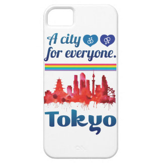 Wellcoda Friendly Tokyo City Japan Urban iPhone SE/5/5s Case