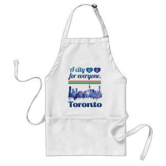 Wellcoda Friendly Toronto City Tolerance Adult Apron