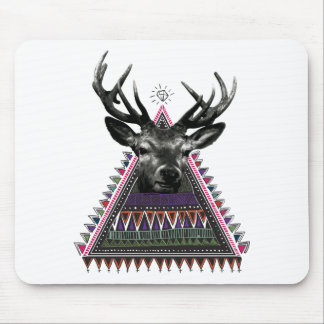 Wellcoda Fun Stag Diamond Deer Crazy Life Mouse Pad