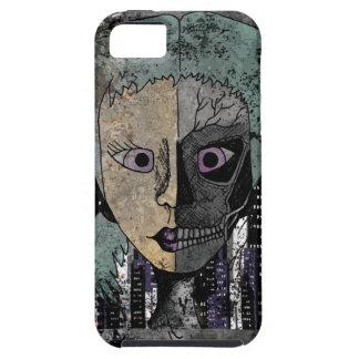 Wellcoda Girl Face Skeleton Half Head iPhone SE/5/5s Case