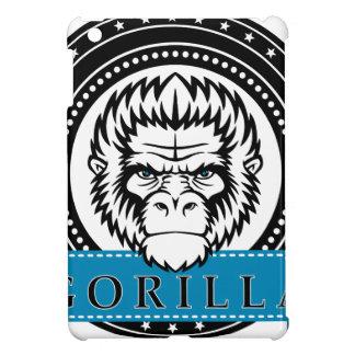 Wellcoda Gorilla Monkey Face Wild Funny iPad Mini Covers