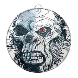 Wellcoda Gorilla Skull Head Monkey Face Dart Board