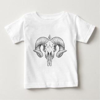 Wellcoda Gothic Horror Skull Sacrifice Baby T-Shirt