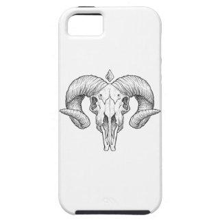 Wellcoda Gothic Horror Skull Sacrifice iPhone SE/5/5s Case