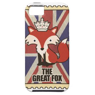 Wellcoda Great Britain Fox Crown UK Royal iPhone SE/5/5s Case