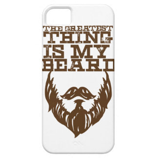Wellcoda Greatest Beard Man Hipster Swag iPhone SE/5/5s Case