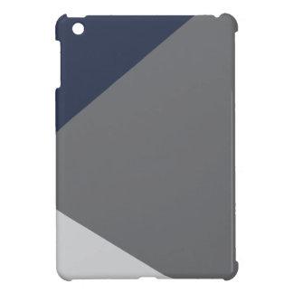 Wellcoda Grey Triangle Shape Three Tier iPad Mini Covers