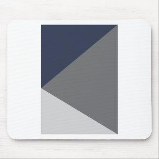Wellcoda Grey Triangle Shape Three Tier Mouse Pad