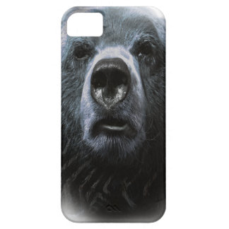 Wellcoda Grizzly Bear Confused Funny Face iPhone SE/5/5s Case