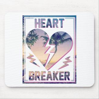 Wellcoda Heart Breaker Lover Palm Tree Mouse Pad