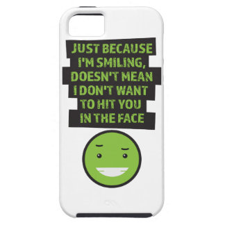 Wellcoda Hit You In The Face Violent Fun iPhone SE/5/5s Case