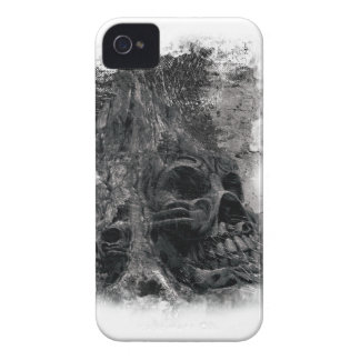 Wellcoda Horror Skull Death Scary Evil iPhone 4 Cover