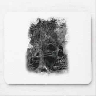 Wellcoda Horror Skull Death Scary Evil Mouse Pad