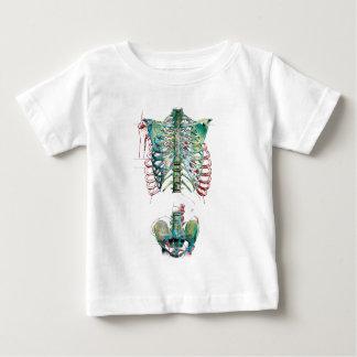 Wellcoda Human Body Rib Cage Skeleton Fun T-shirt