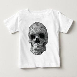 Wellcoda Human Candy Skull Death Head Baby T-Shirt