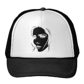Wellcoda Human Face Beautiful Dream Girl Trucker Hat