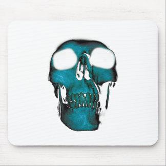 Wellcoda Human Head Horror Fun Creep Mask Mouse Pad