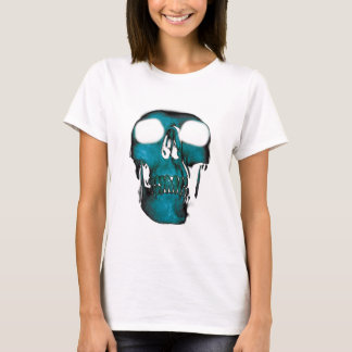 Wellcoda Human Head Horror Fun Creep Mask T-Shirt