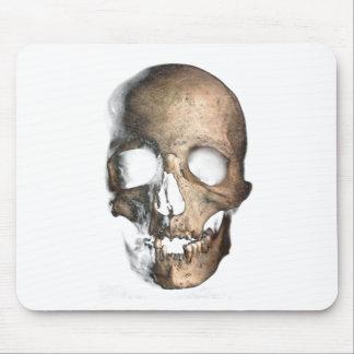 Wellcoda Human Skull Head Face Creep Mask Mouse Pad