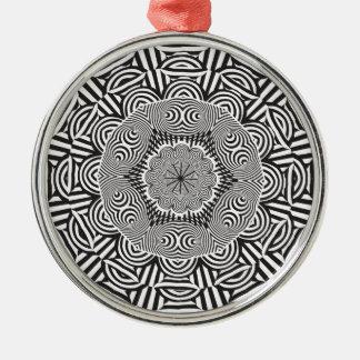 Wellcoda Indian Style Illusion Optical Metal Ornament