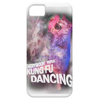 Wellcoda Kung Fu que baila el gato salvaje lírico iPhone 5 Funda