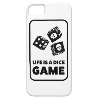 Wellcoda Life Is A Dice Game Casino Fun iPhone SE/5/5s Case