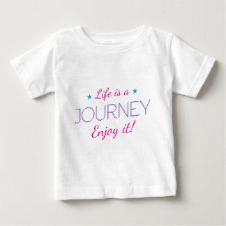 Wellcoda Life Is A Journey Fun Enjoy It Baby T-Shirt