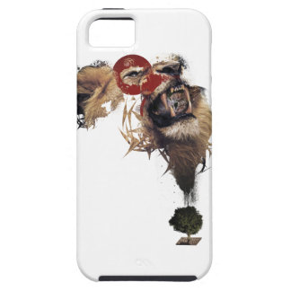 Wellcoda Lion King of Africa Wild Animal iPhone SE/5/5s Case