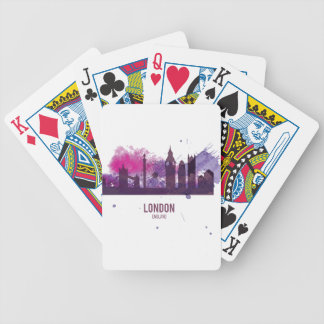 Wellcoda London Capital City UK England Bicycle Playing Cards