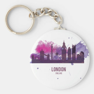 Wellcoda London Capital City UK England Keychain
