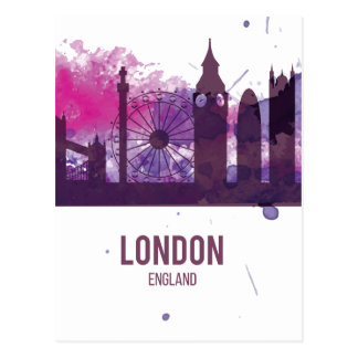 Wellcoda London Capital City UK England Postcard